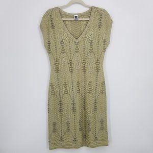 Missoni Metallic Crochet Knit Dress